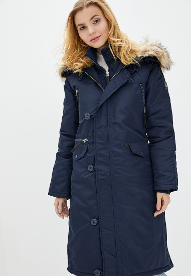 Куртка женские Airboss модель 173000773121_blue , 2017