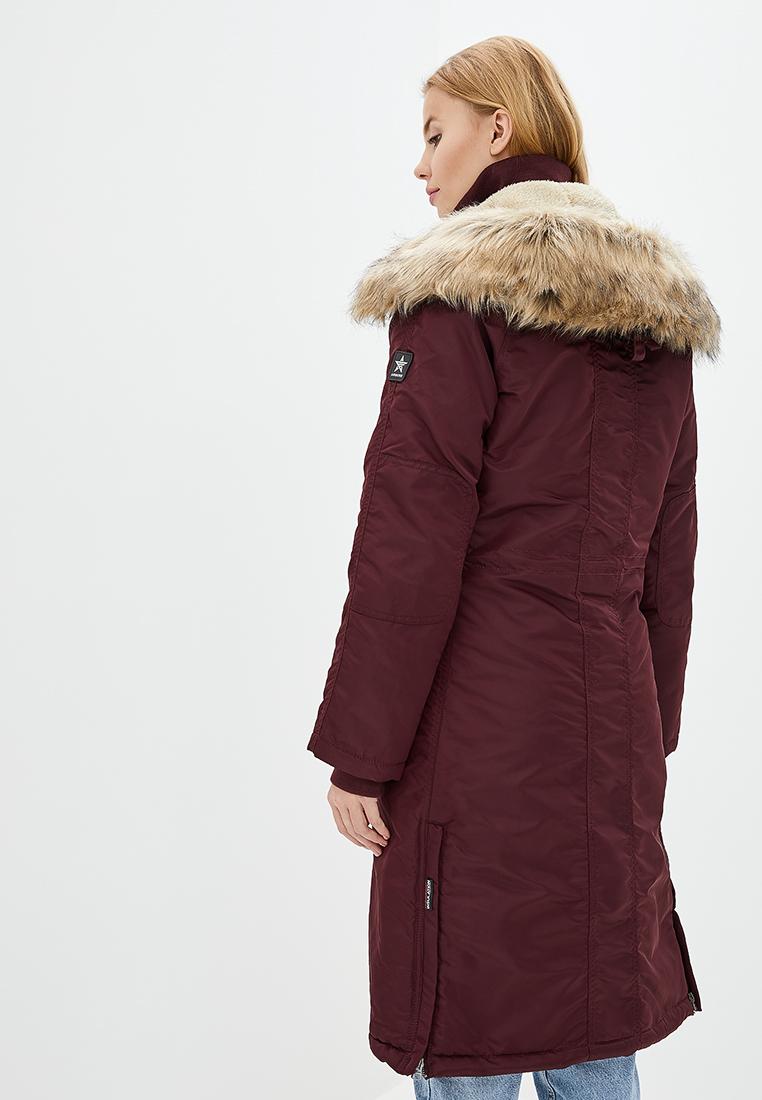 Куртка женские Airboss модель 173000773121_burgundy купить, 2017