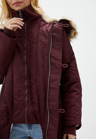 Куртка женские Airboss модель 173000773121_burgundy , 2017