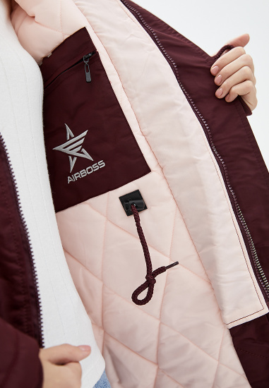 Куртка женские Airboss модель 173000773121_burgundy приобрести, 2017