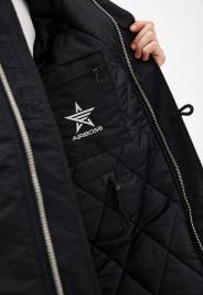 Куртка мужские Airboss модель 17300763221T_black качество, 2017