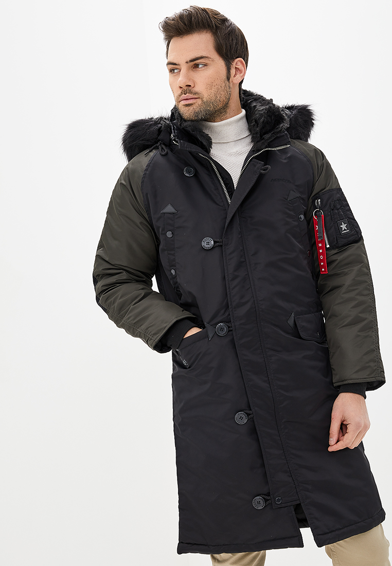 Куртка мужские Airboss модель 17300763221T_black , 2017