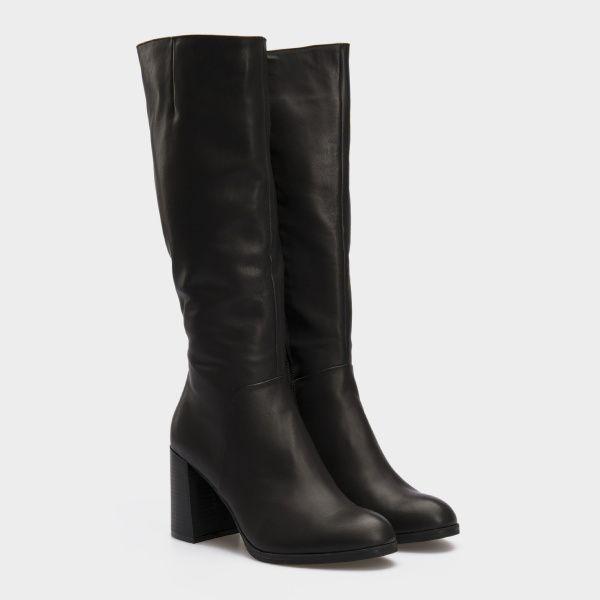 Сапоги женские Сапоги 1766 черная кожа 1766 Заказать, 2017