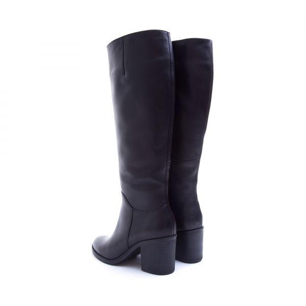 Сапоги для женщин Сапоги 1774 черная кожа. Еврозима 1774 размерная сетка обуви, 2017