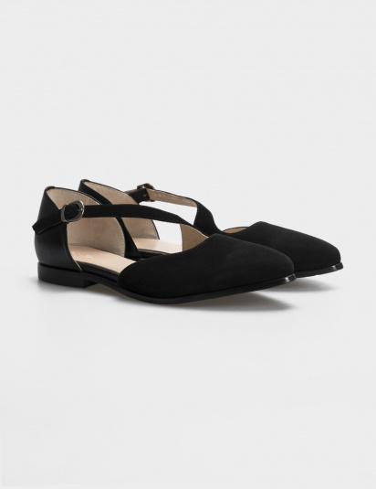 Балетки  жіночі Балетки 18-1383 черная замша/кожа 18-1383 продаж, 2017