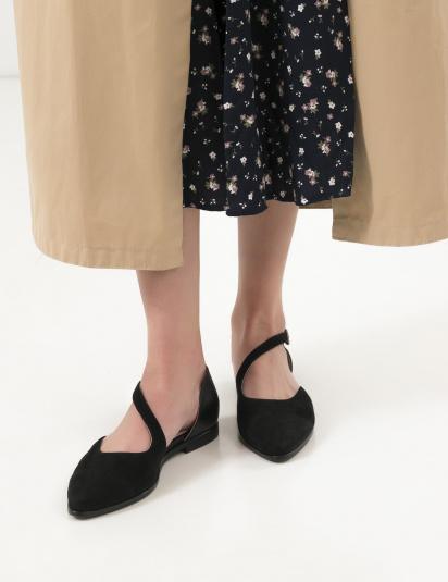 Балетки  жіночі Балетки 18-1383 черная замша/кожа 18-1383 брендове взуття, 2017