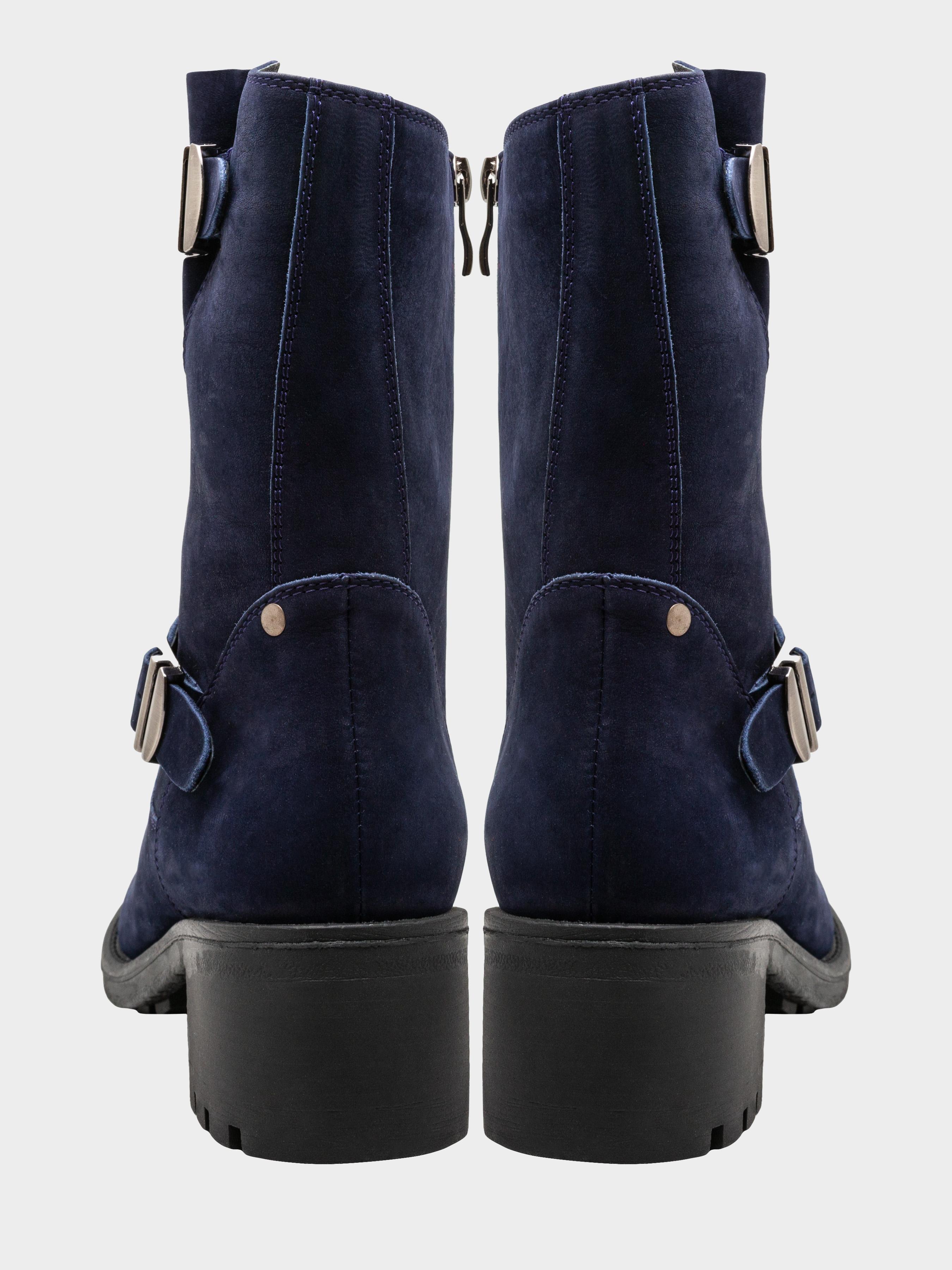 Полусапоги для женщин Сапожки женские ENZO VERRATTI 18-7372-5blu обувь бренда, 2017