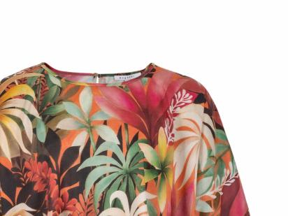 Блуза з коротким рукавом Bugatti - фото