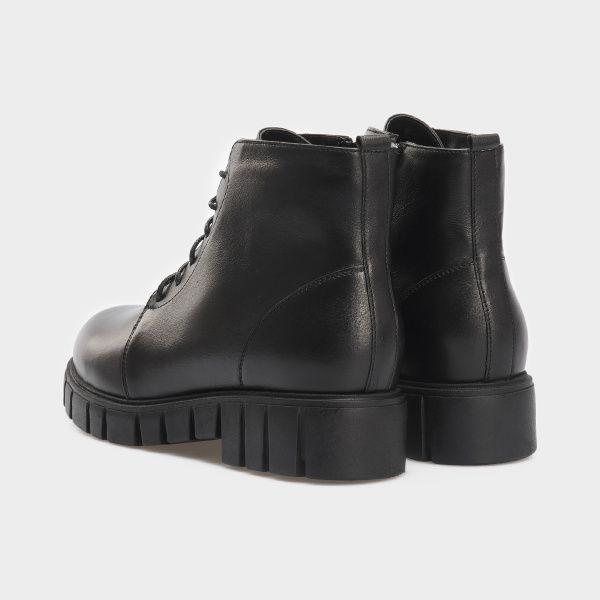 Ботинки женские Ботинки 18400130 черная кожа. Шерсть 18400130 выбрать, 2017