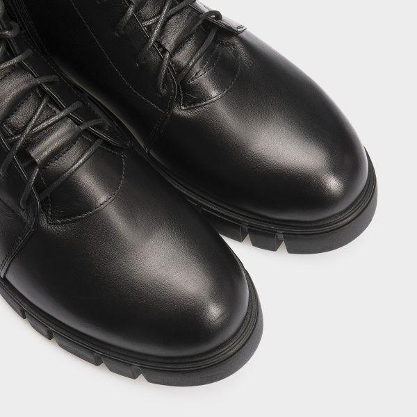 Ботинки женские Ботинки 18400130 черная кожа. Шерсть 18400130 цена, 2017