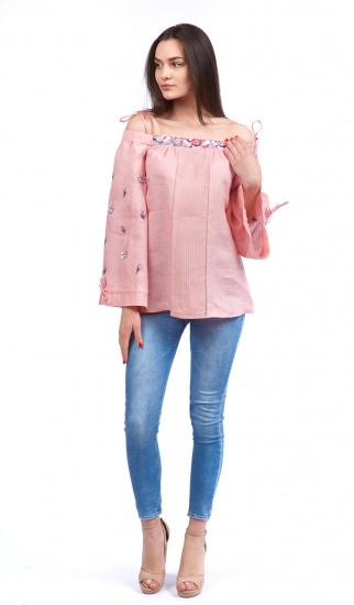 Блуза з довгим рукавом Едельвіка модель 19-20-00 — фото 3 - INTERTOP