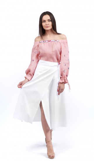 Блуза з довгим рукавом Едельвіка модель 19-20-00 — фото 4 - INTERTOP
