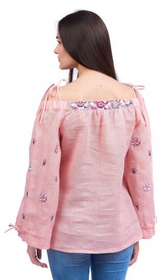 Блуза з довгим рукавом Едельвіка модель 19-20-00 — фото 5 - INTERTOP