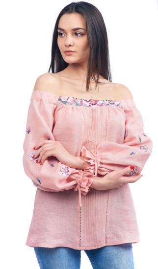 Блуза з довгим рукавом Едельвіка модель 19-20-00 — фото - INTERTOP