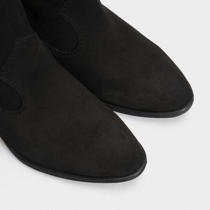Сапоги женские Ботинки (Козак) 1945-010chr черная кожа. Байка 1945-010chr фото, купить, 2017