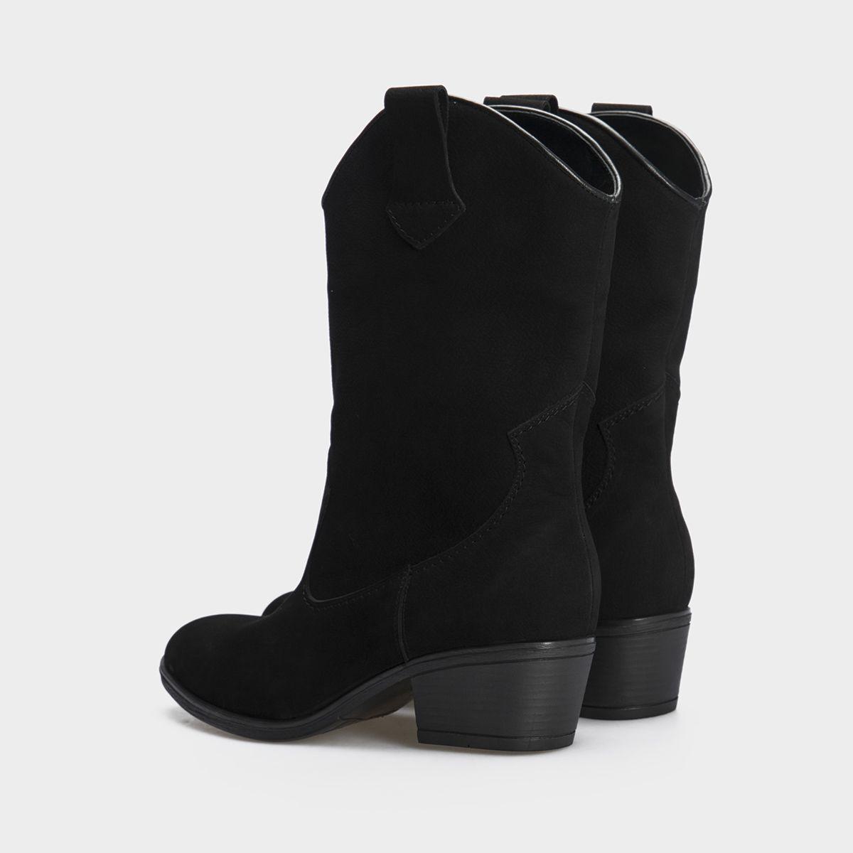 Сапоги женские Ботинки (Козак) 1945-010chr черная кожа. Байка 1945-010chr смотреть, 2017