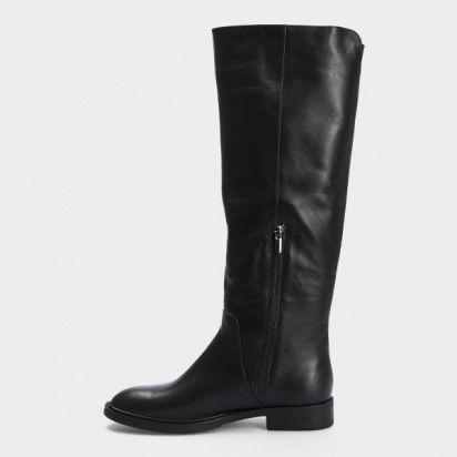Сапоги для женщин Сапоги 1985-010 черная кожа.  Байка 1985-010 примерка, 2017
