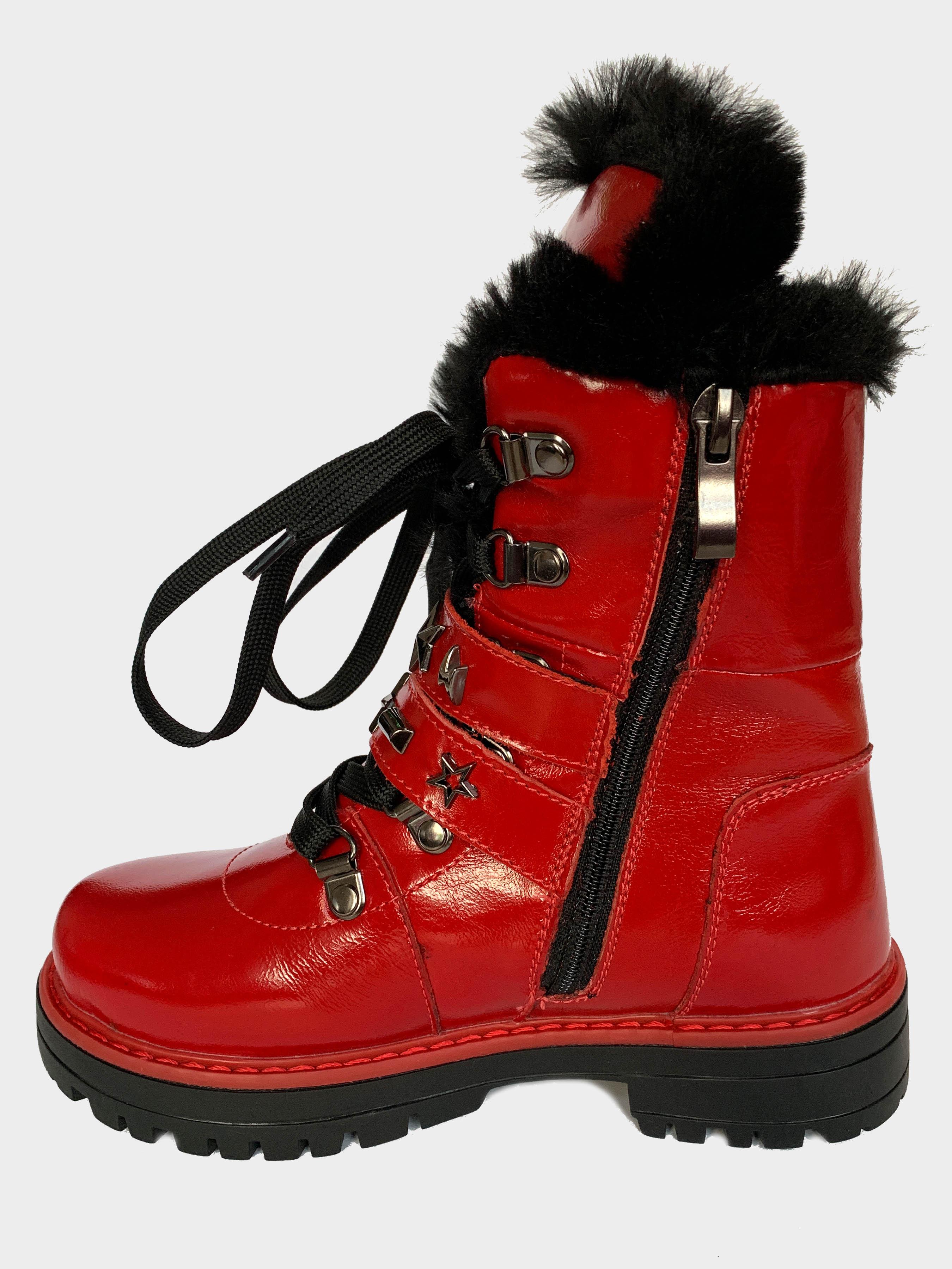 Ботинки детские Carry Red 199-2L размерная сетка обуви, 2017