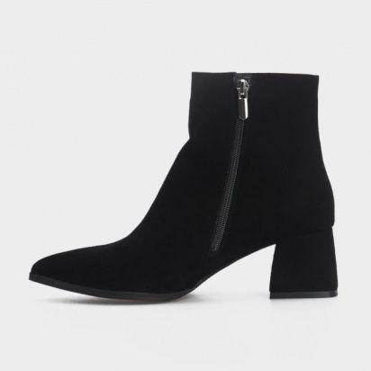женские Ботильоны 1993-110 черная замша. Байка 1993-110 размерная сетка обуви, 2017
