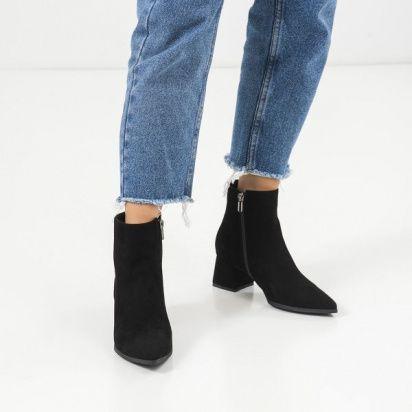 женские Ботильоны 1993-110 черная замша. Байка 1993-110 брендовая обувь, 2017