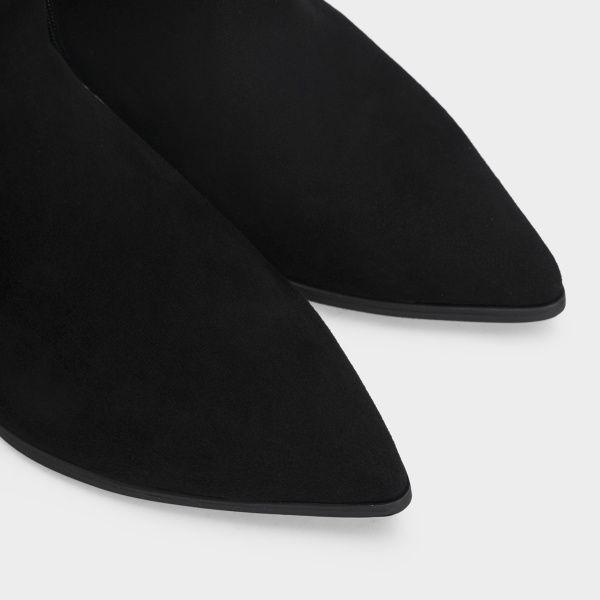 женские Ботильоны 1993-110 черная замша. Байка 1993-110 цена, 2017