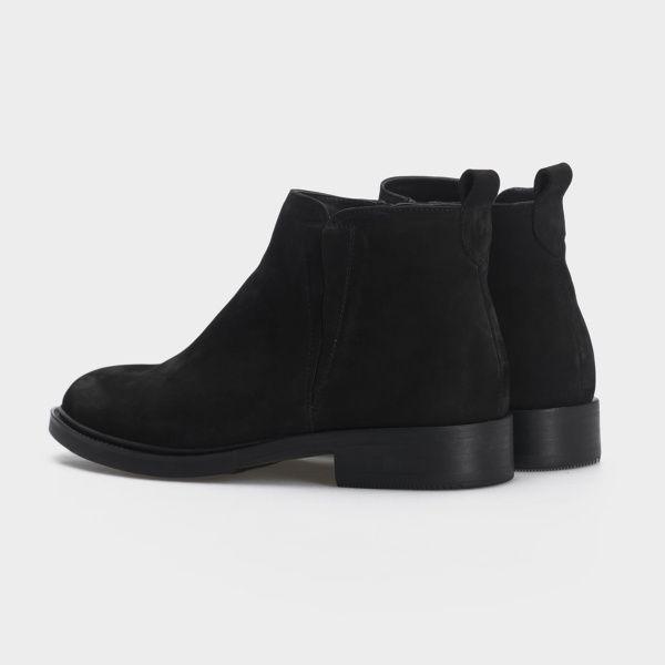 Ботинки женские Ботинки 1999-210chr черный нубук. Байка 1999-210chr купить в Украине, 2017