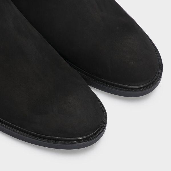 Ботинки женские Ботинки 1999-210chr черный нубук. Байка 1999-210chr выбрать, 2017