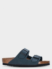 Шлёпанцы для детей Birkenstock Arizona Kids BF Nubuk Navy R 1002360 обувь бренда, 2017