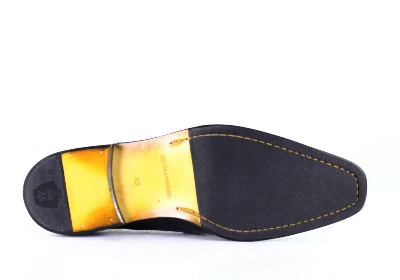Туфли для мужчин MELVIN & HAMILTON 1E4 примерка, 2017