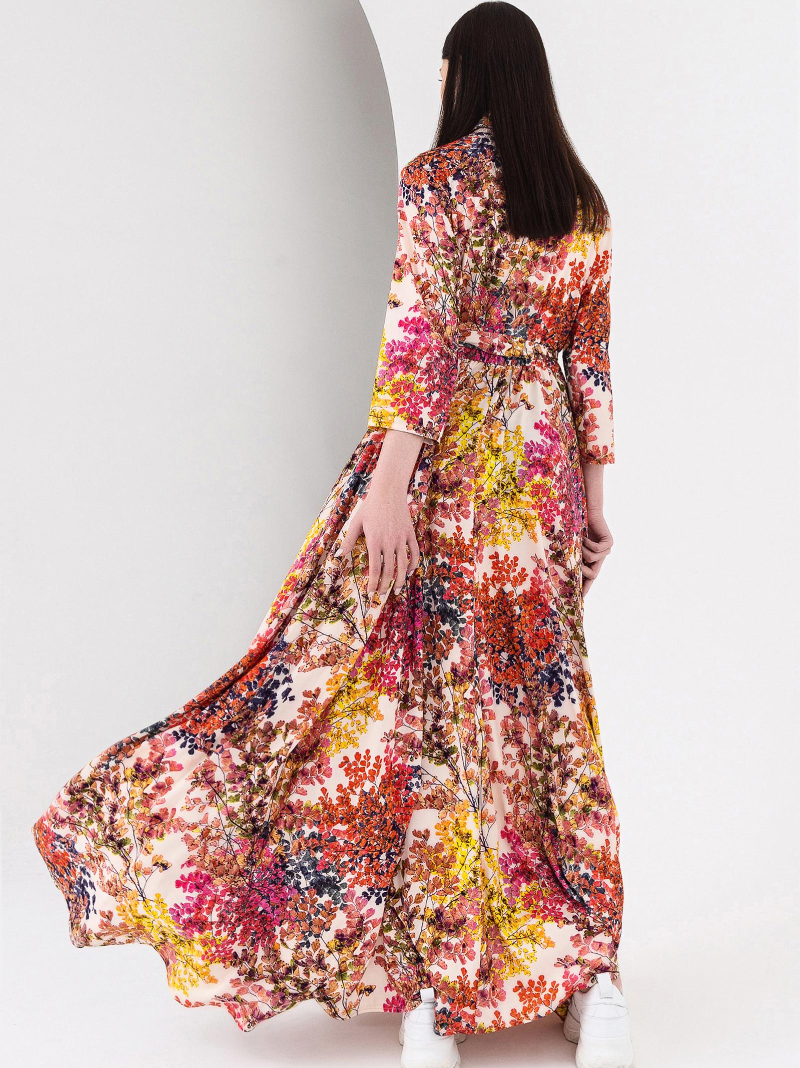 VOVK Сукня жіночі модель 08116 принт , 2017