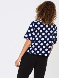 VOVK Блуза жіночі модель 05908 горох , 2017