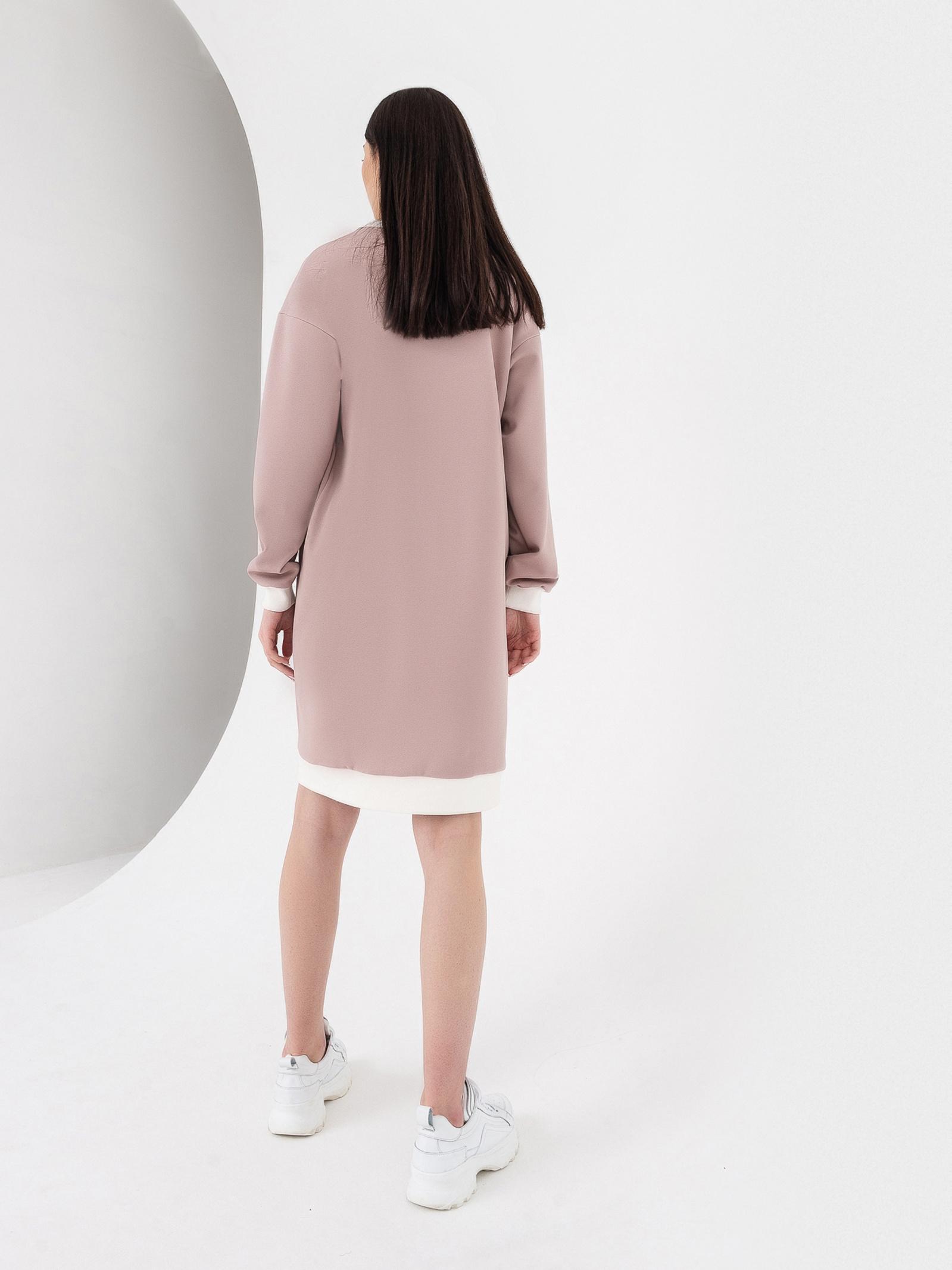VOVK Сукня жіночі модель 06589 фрезовий якість, 2017