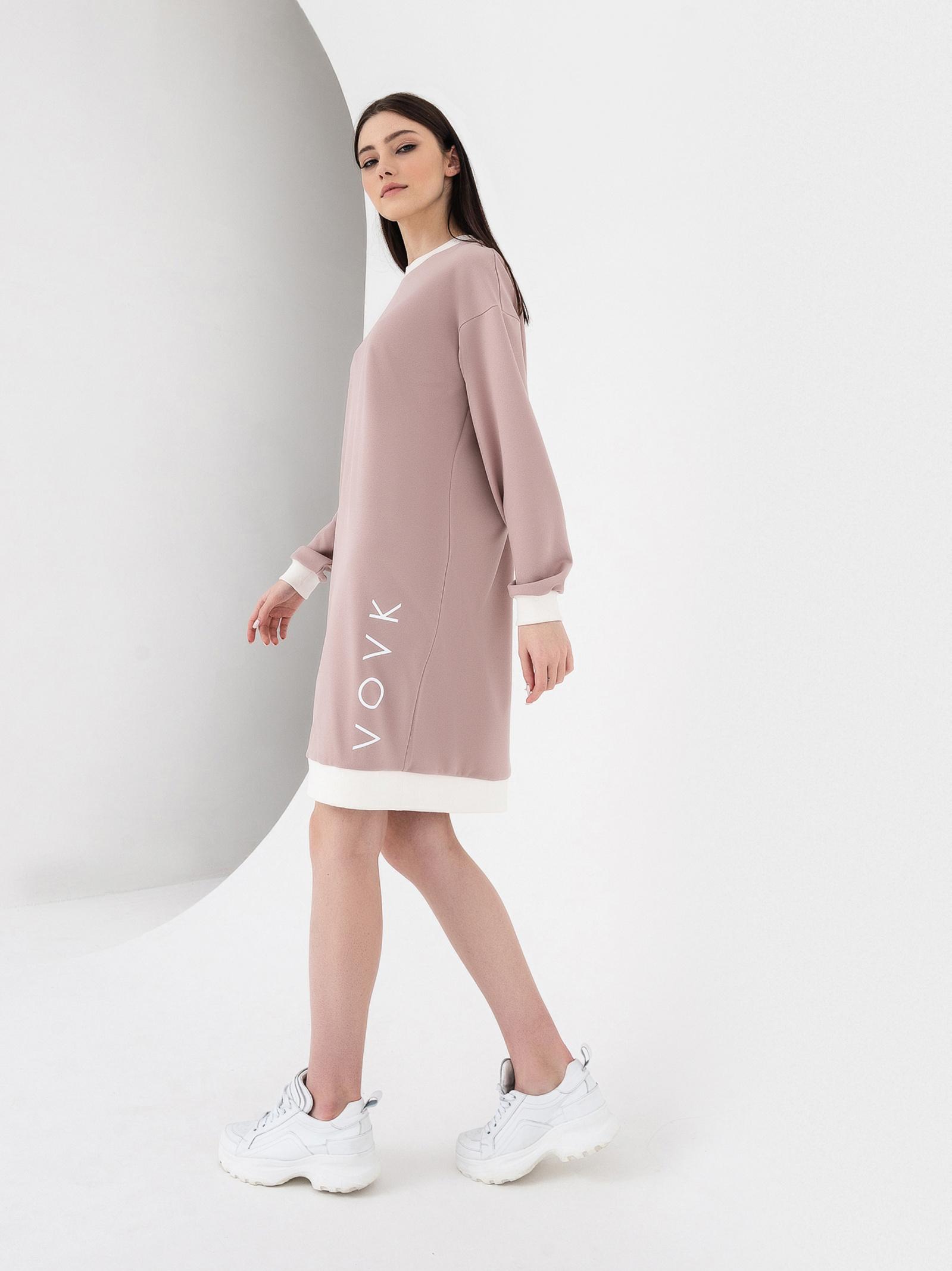 VOVK Сукня жіночі модель 06589 фрезовий , 2017