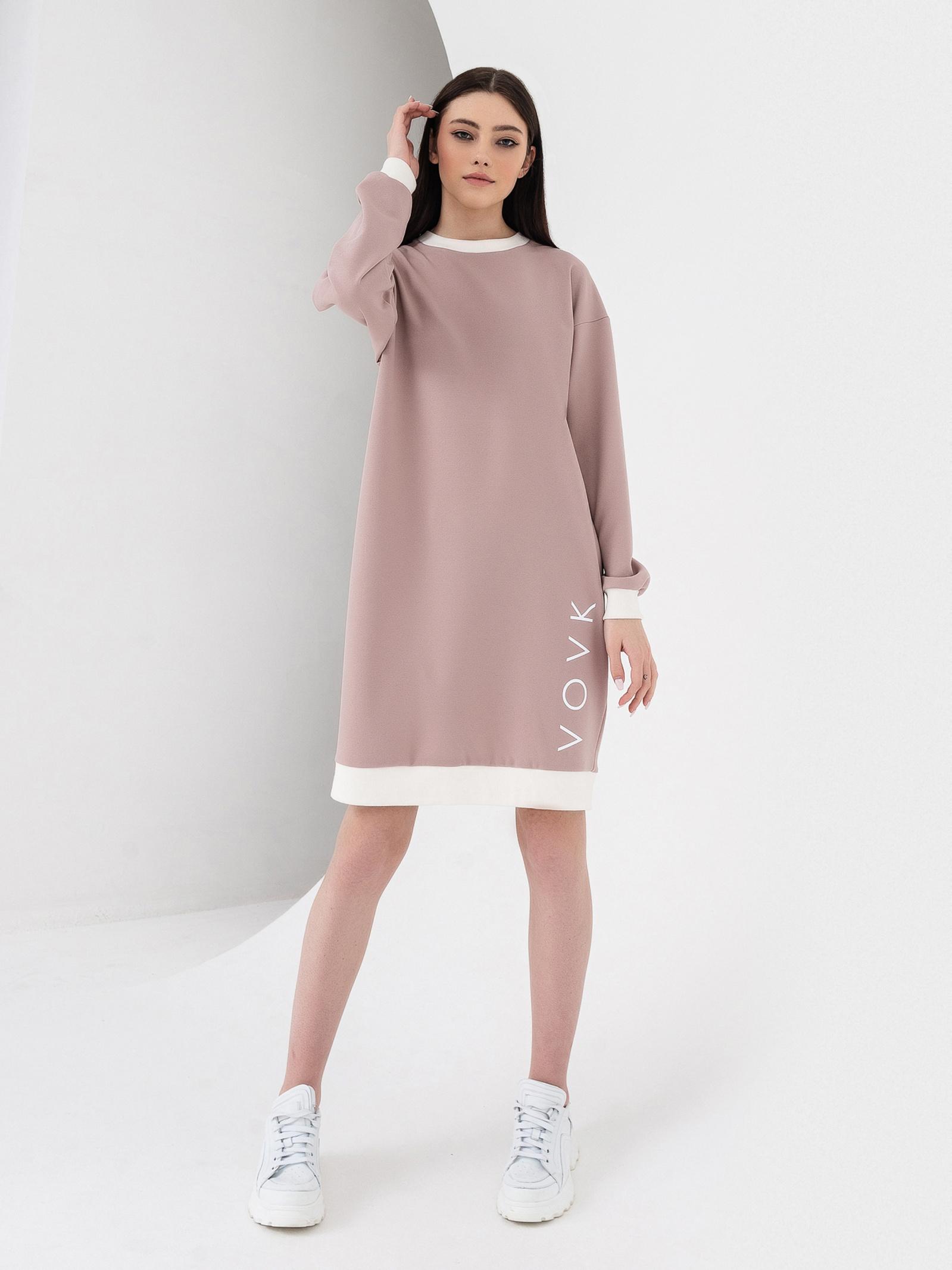 VOVK Сукня жіночі модель 06589 фрезовий купити, 2017