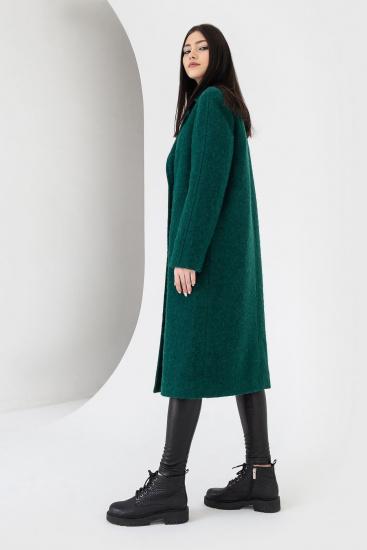 Пальто VOVK модель 07121 смарагдовий — фото 3 - INTERTOP