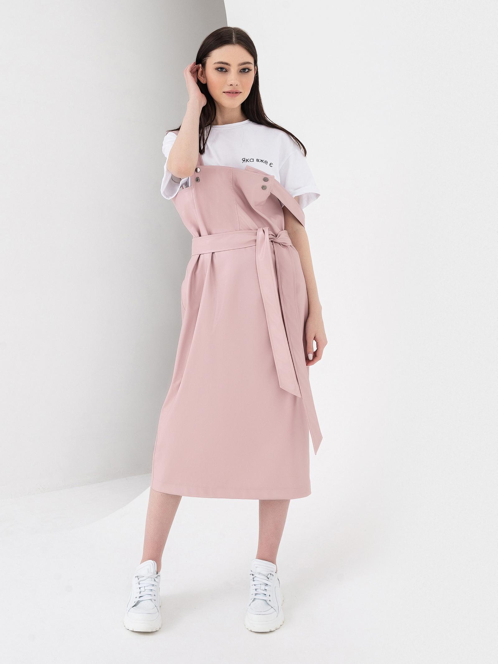 VOVK Сарафан жіночі модель 07494 пудровий , 2017