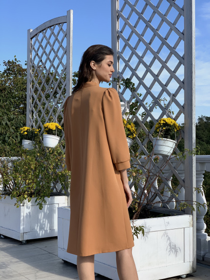 Сукня VOVK модель 09696 карамель — фото 2 - INTERTOP