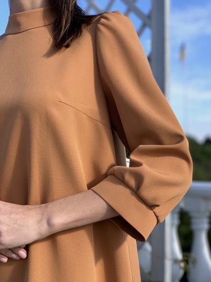 Сукня VOVK модель 09696 карамель — фото 3 - INTERTOP