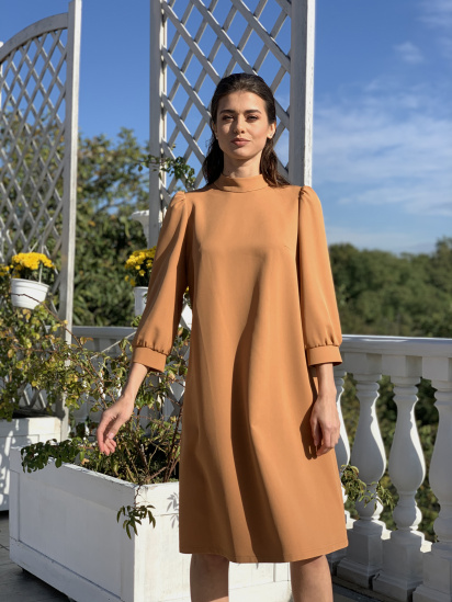 Сукня VOVK модель 09696 карамель — фото - INTERTOP
