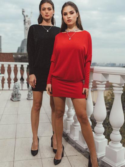 Сукня VOVK модель 010212 червоний — фото 2 - INTERTOP