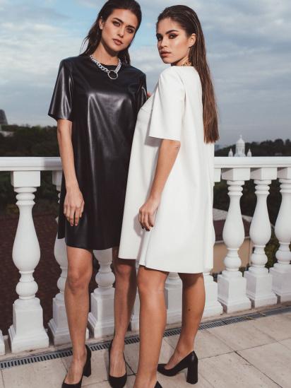 Сукня VOVK модель 09953 чорний — фото 4 - INTERTOP