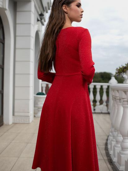 Сукня VOVK модель 010207 червоний — фото 2 - INTERTOP