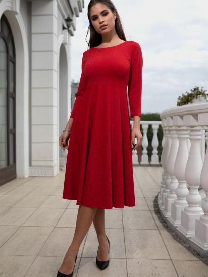 Сукня VOVK модель 010207 червоний — фото - INTERTOP