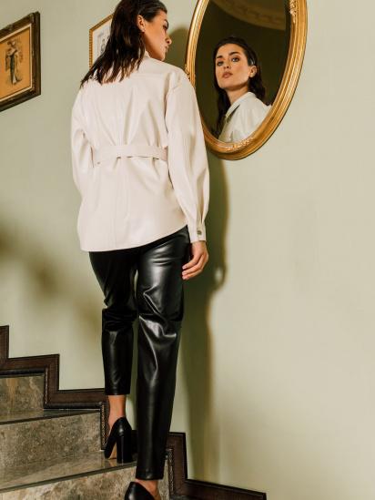 Блуза з довгим рукавом VOVK модель 09797 молочний — фото 2 - INTERTOP