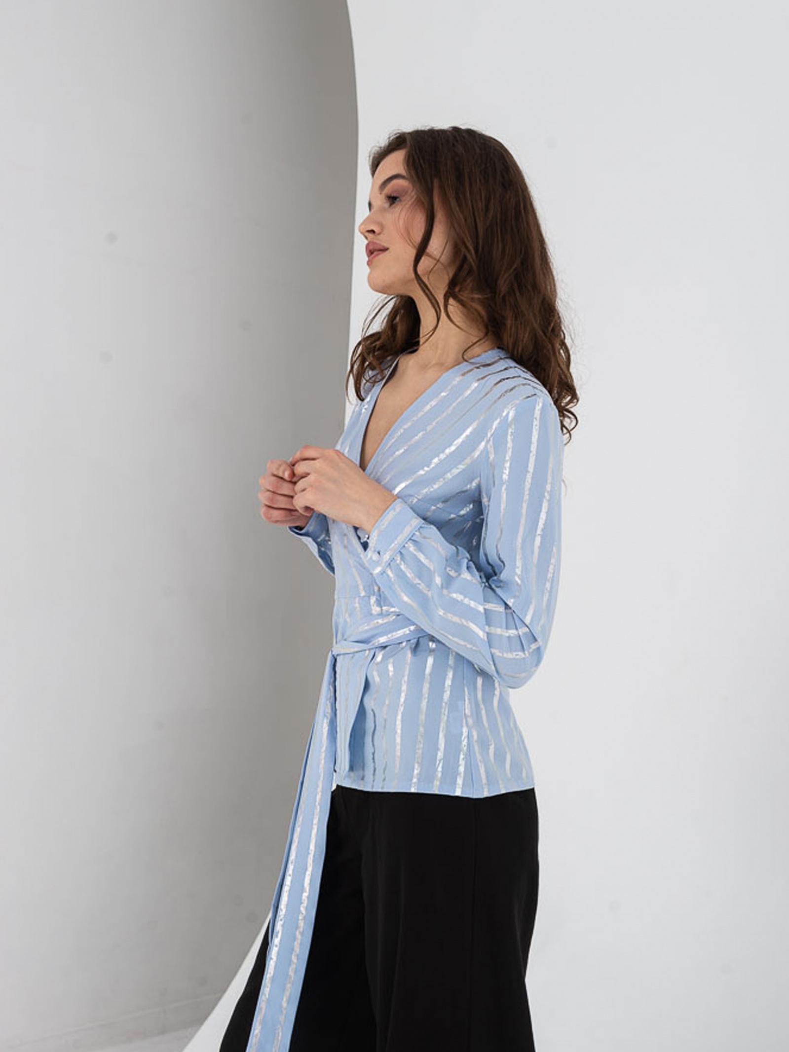 VOVK Блуза жіночі модель 07393  смужка якість, 2017