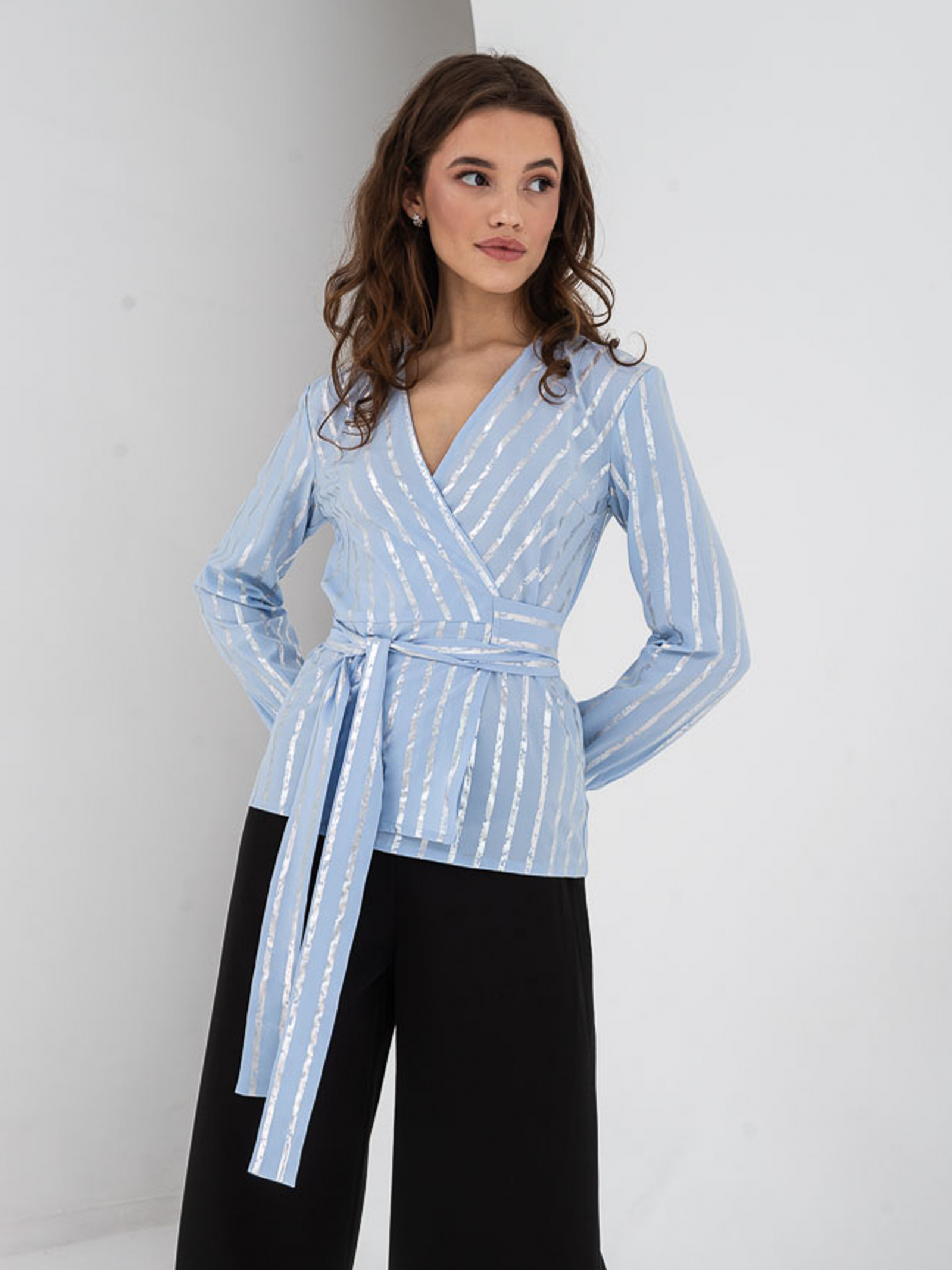 VOVK Блуза жіночі модель 07393  смужка , 2017