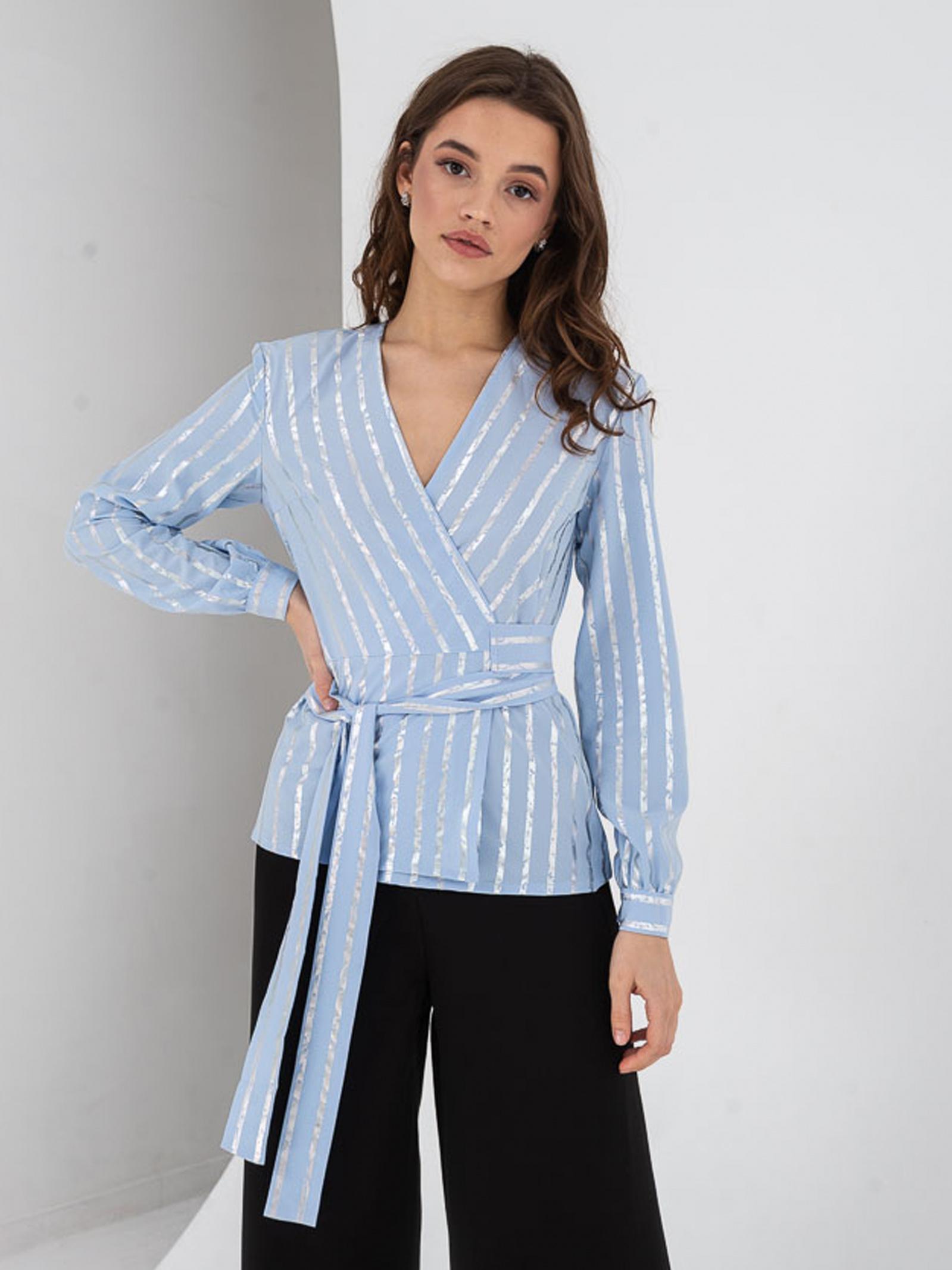 VOVK Блуза жіночі модель 07393  смужка купити, 2017