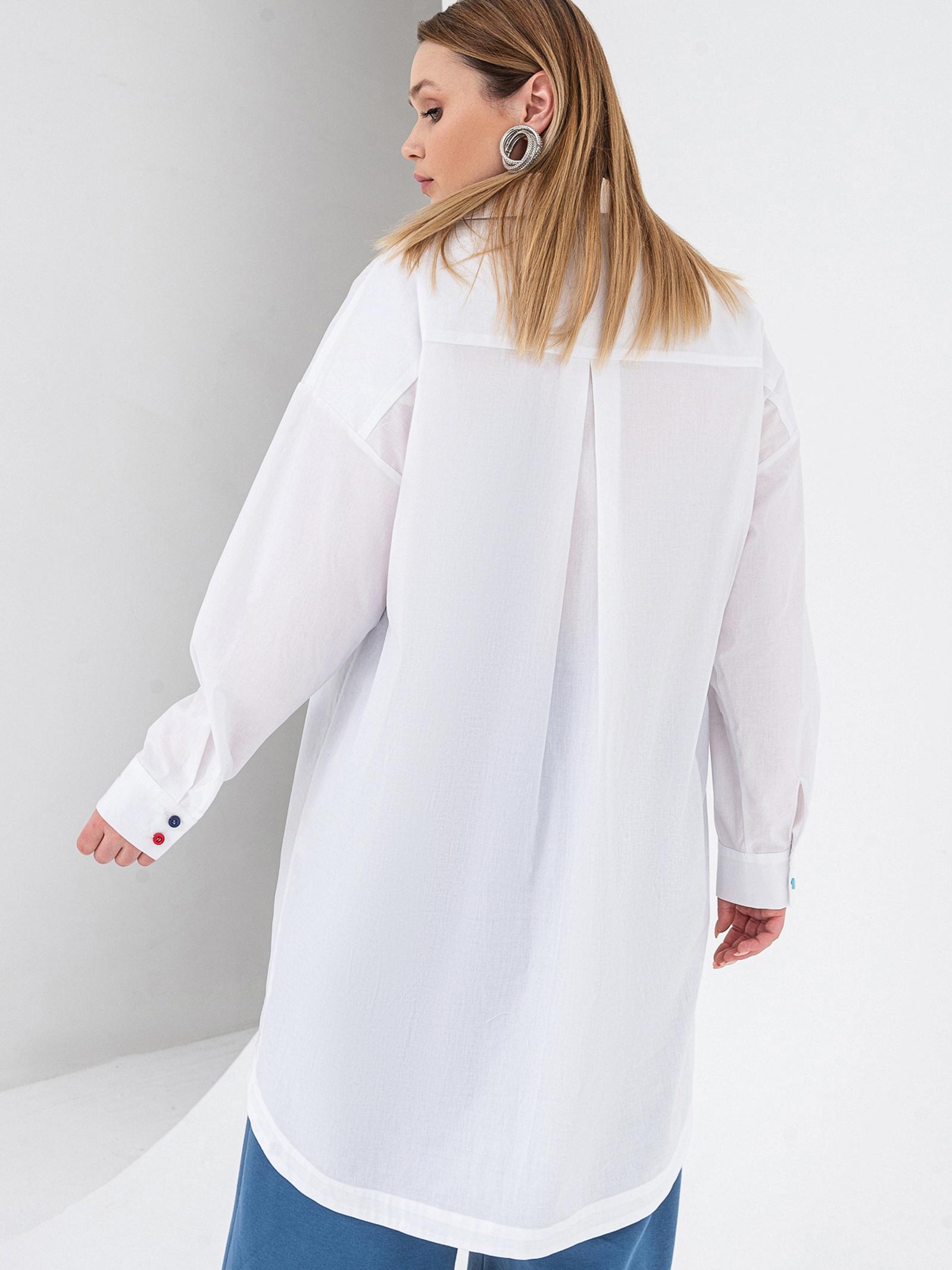 VOVK Блуза жіночі модель 07591 білий , 2017