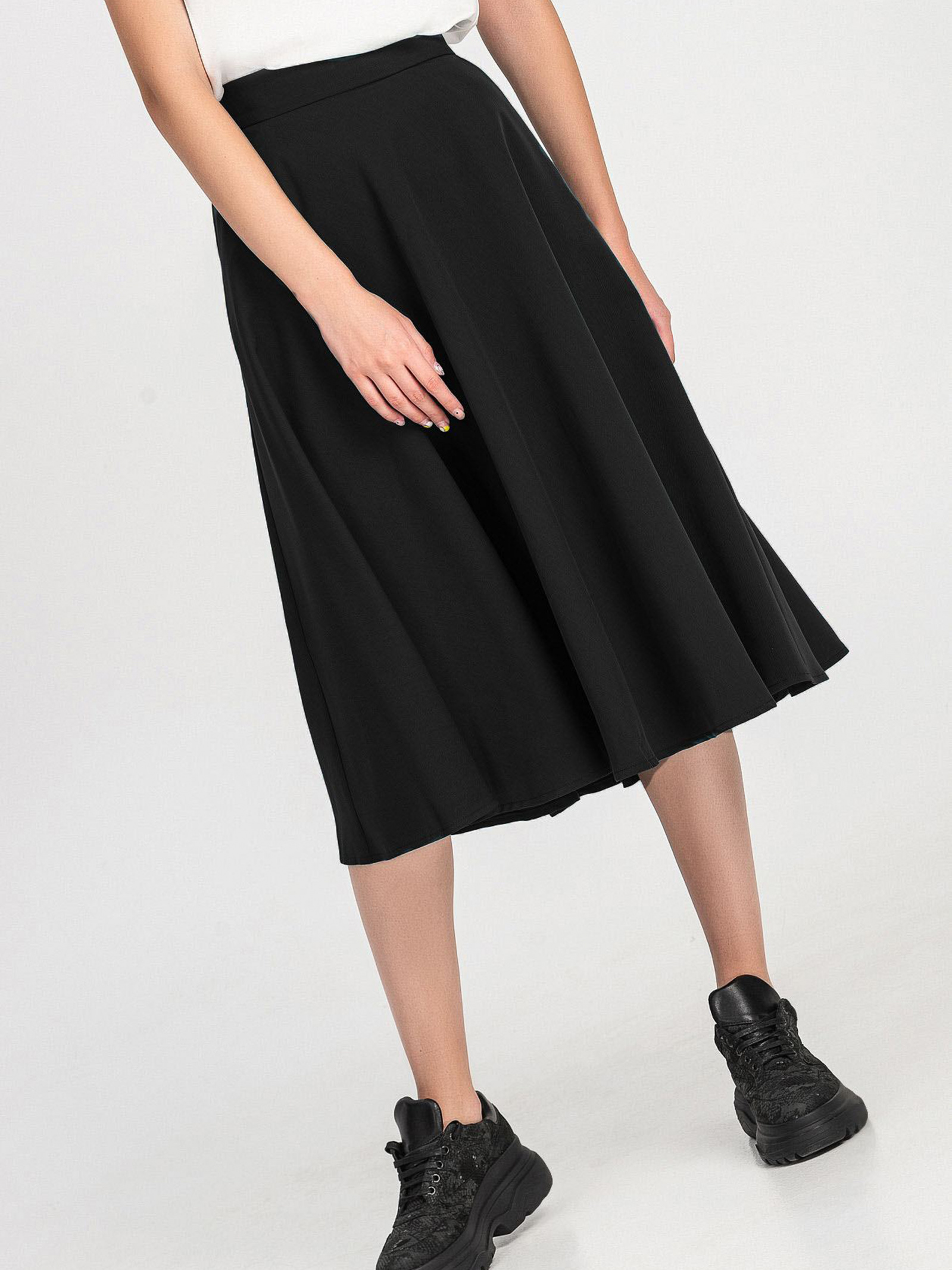 VOVK Спідниця жіночі модель 06363 чорний якість, 2017