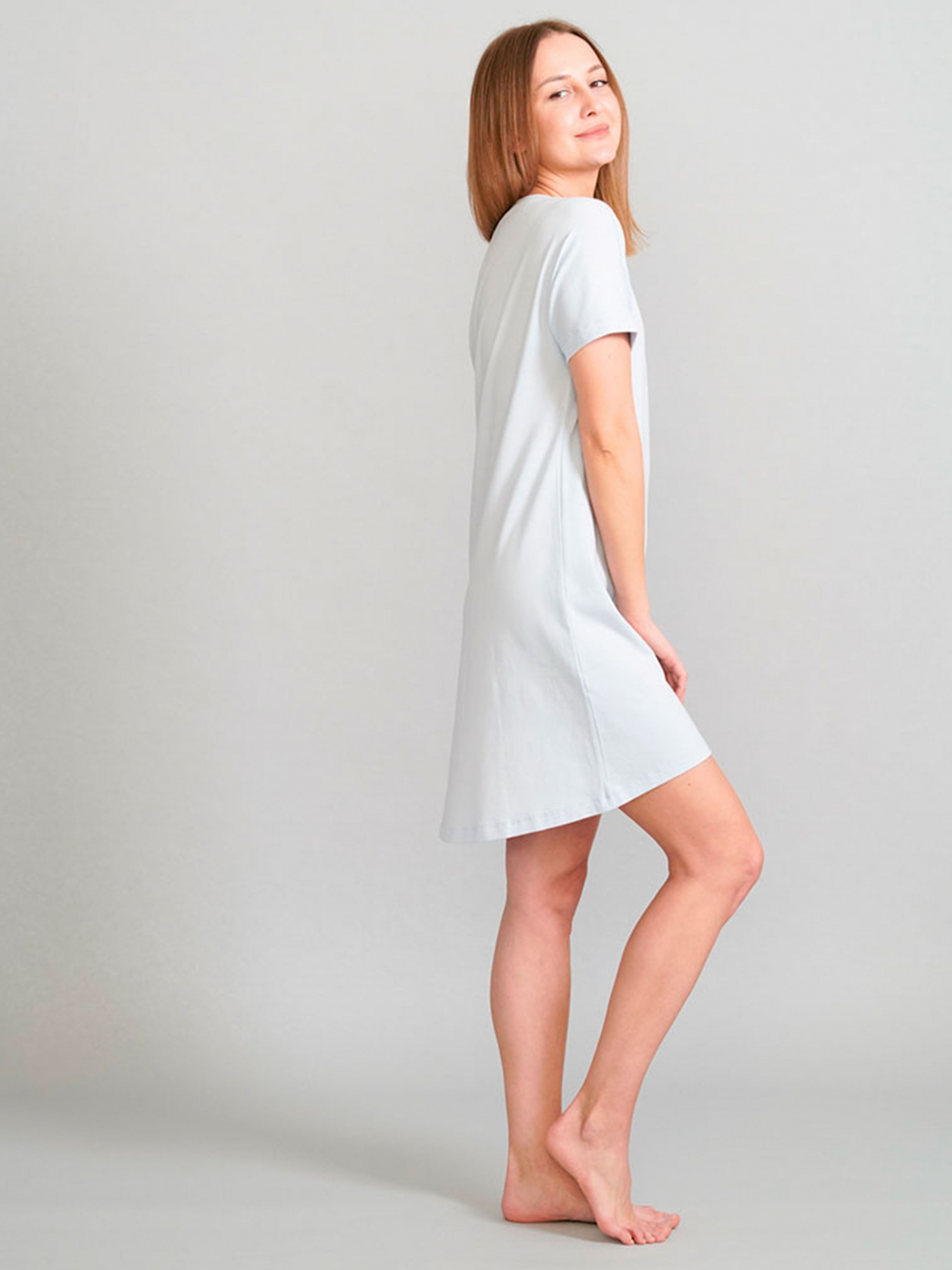 Promin Нічна сорочка жіночі модель 2072-11 Блакитний купити, 2017